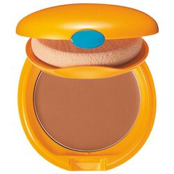 Tanning Compact Foundation SPF6, BRONZE - Shiseido, Makeup solare