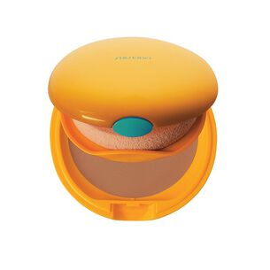 Tanning Compact Foundation, BRONZE - SHISEIDO SUN, Makeup solare