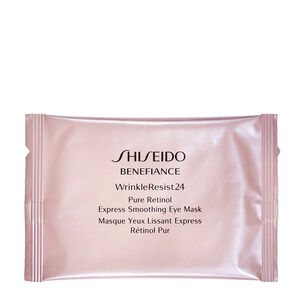WrinkleResist24 Pure Retinol Express Smoothing Eye Mask - BENEFIANCE, Benefiance