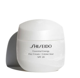 Day Cream SPF 20 - Shiseido, Essential Energy