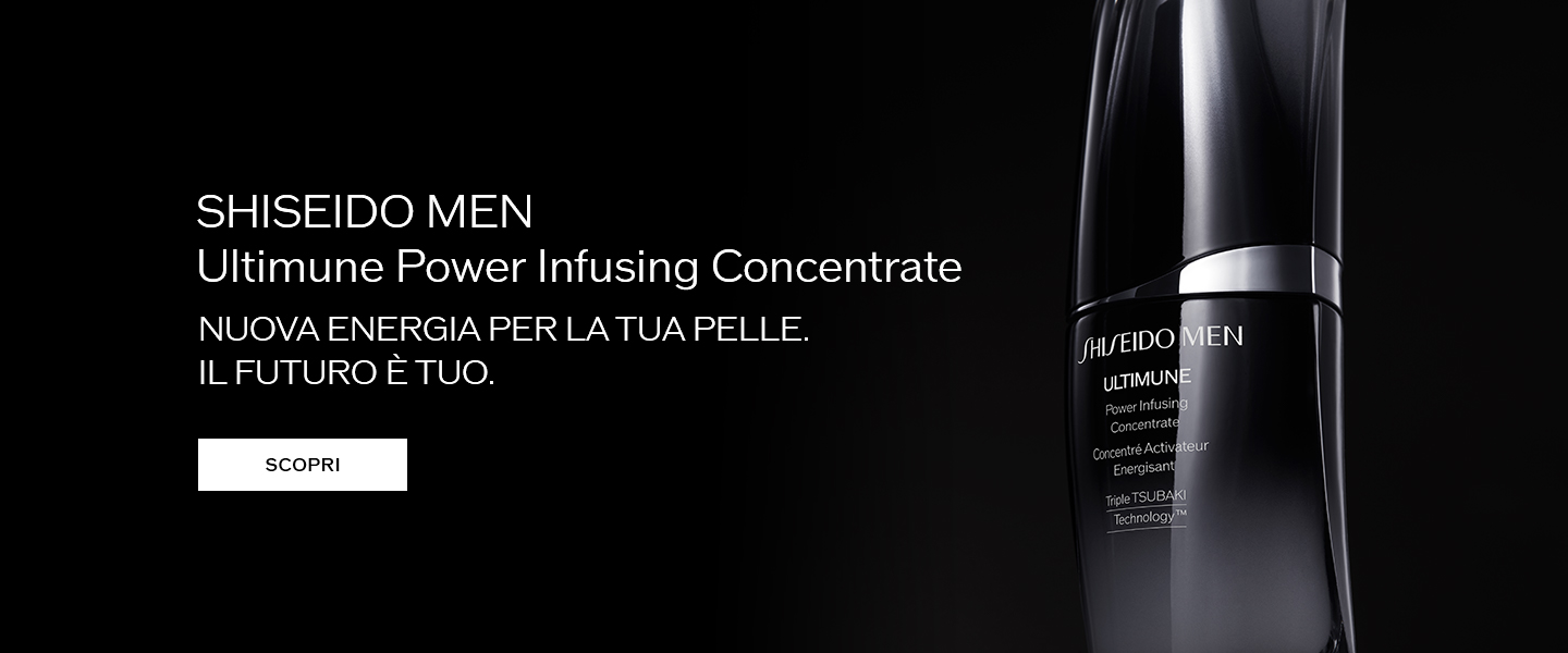 SHISEIDO MEN Ultimune Power Infusing Concentrate LIVEN UP YOUR LOOK OWN YOUR FUTURE VIEW DETAILS